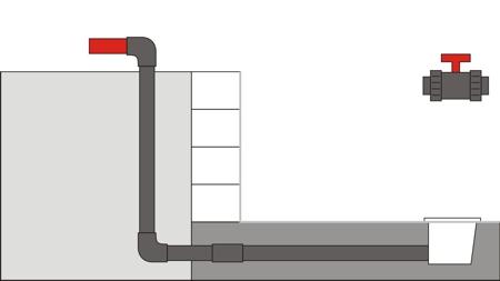Pool Bodenablauf Montage 8