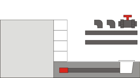 Pool Bodenablauf Montage 3