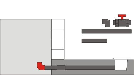 Pool Bodenablauf Montage 6