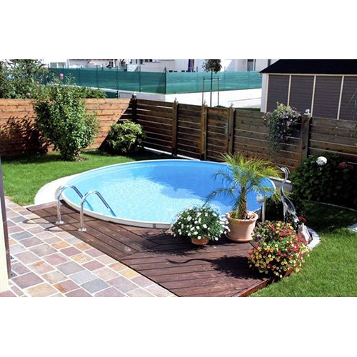 stahlwandpool set rund pool stahlwandbecken rundpool rundbecken schwimmbad ebay. Black Bedroom Furniture Sets. Home Design Ideas