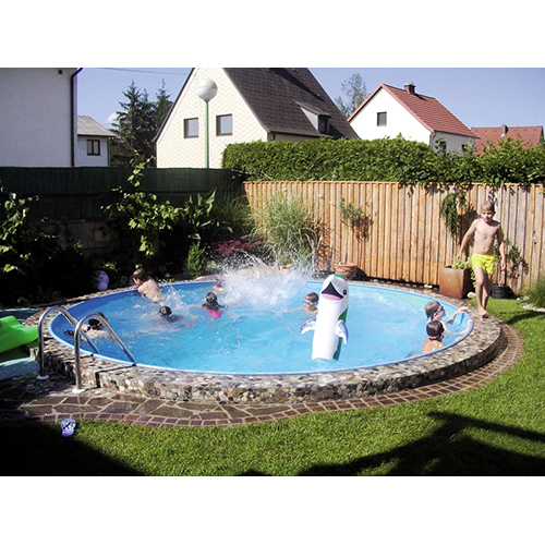 mega sommer stahlwandpool rund rundpool stahlwandbecken set sandfilter skimmer ebay. Black Bedroom Furniture Sets. Home Design Ideas