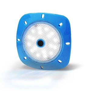 Notmad LED Magnetscheinwerfer Gehäuse weiß Leuchtmittel blau