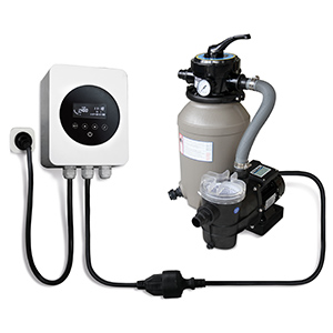 Frequenzumformer für Poolpumpen - Bsp. Anschluss an Pumpe