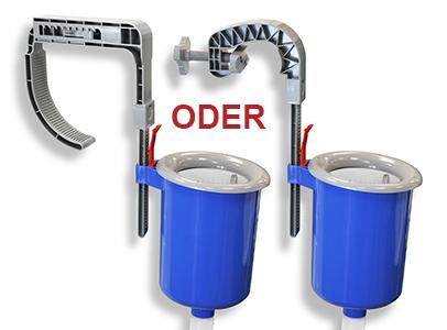 Universal Einhängeskimmer für Filteranlagen