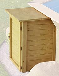 Technikbox für Holzpools